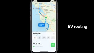 iOS 14: ricerca di stazioni di ricarica per auto elettriche