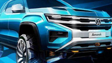 Volkswagen Amarok 2022: realizzato su base del Ford Ranger
