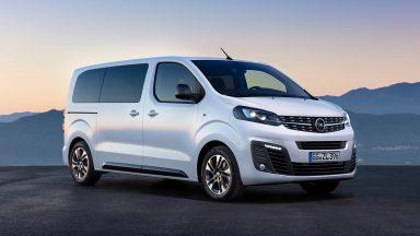Opel Zafira e-Life: il van elettrico da 330 Km di autonomia