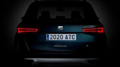 Seat Ateca 2020: ecco il primo dettaglio del restyling
