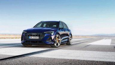 Audi e-tron S: tre motori elettrici e 503 CV di potenza