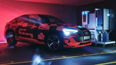 Audi: la ricarica bidirezionale fornisce energia alla casa