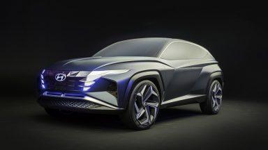 Hyundai Vision T: linee seducenti per il SUV ibrido plug-in