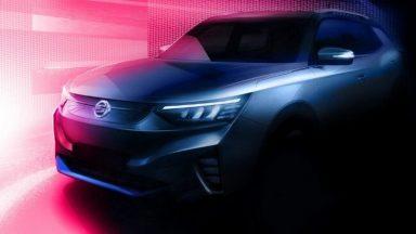 Ssangyong Korando: ecco la prima immagine del SUV elettrico