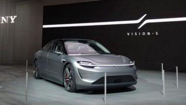 Sony Vision-S: primi test reali su strada entro fine anno