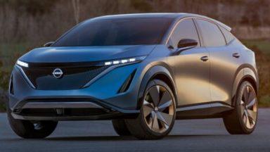 Nissan Ariya: ecco il primo teaser del crossover coupé