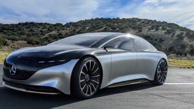 Mercedes EQS: 700 Km di autonomia grazie alle batterie CATL