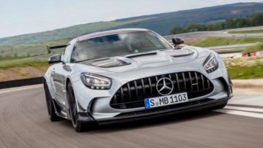 Mercedes AMG GT Black Series: una belva da strada