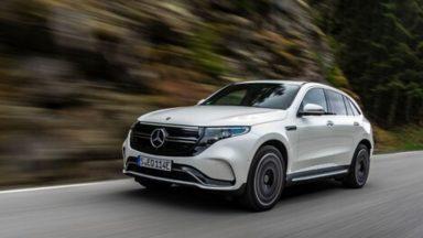 Mercedes EQC: secondo un'azionista l'auto è un flop