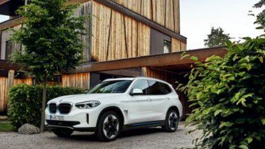 BMW iX3: oltre 460 km di autonomia per il crossover electric