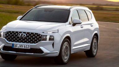 Hyundai Santa Fe 2021: nuova, con motori ibridi e Plug-In