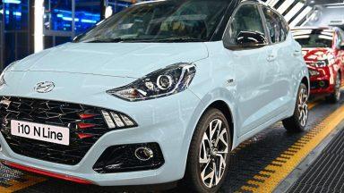 Hyundai: arriva la nuova i10 N Line con motore Turbo