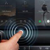 Jaguar Land Rover: display contactless anti-distrazione