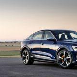 Audi e-Tron S: potentissima con tre propulsori elettrici