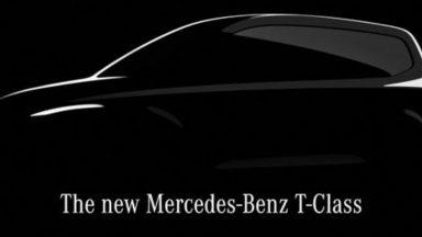 Mercedes Classe T: il nuovo van sarà anche elettrico