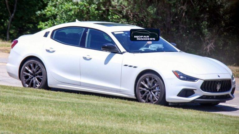 Maserati Ghibli Hybrid prototipo avvistato