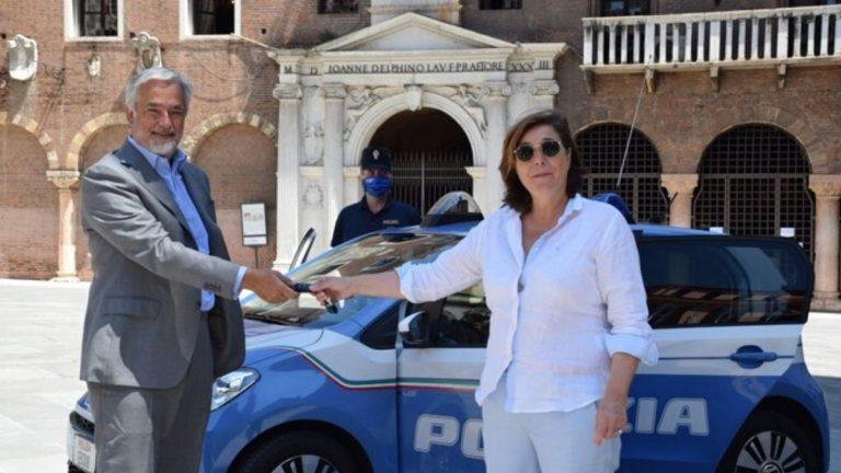 VW e-Up! Polizia di Verona