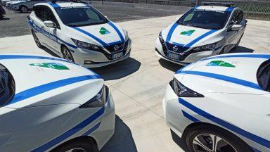 Nissan: 5 Leaf elettriche al Comune de L'Aquila