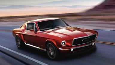 Aviar R67: la Mustang del passato su base Tesla Model S