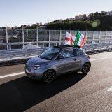 Fiat 500 elettrica: percorso il nuovo ponte San Giorgio