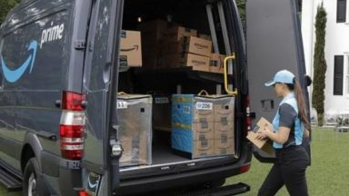 Amazon Germania: stazione di ricarica per furgoni elettrici