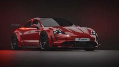 Porsche Taycan: Prior Design regala i muscoli alla Turbo S