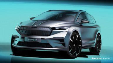 Skoda Enyaq: che look scolpito per il SUV elettrico!