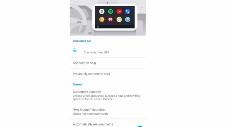 Android Auto nuova interfaccia
