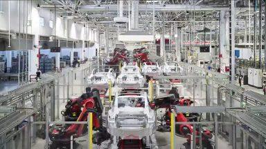 Tesla: il video della Gigafactory di Shanghai in produzione