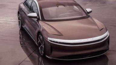 Lucid Air: una berlina di lusso che sfida le auto di Tesla