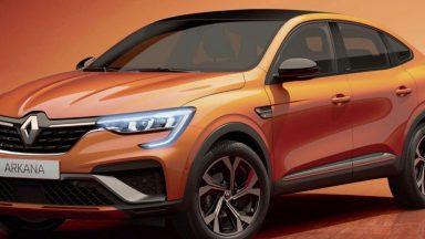 Renault: ecco Arkana, il nuovo SUV coupè del costruttore