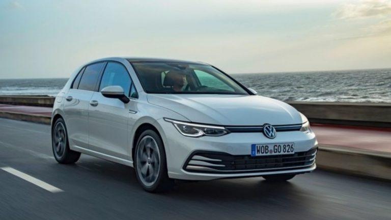 VW Golf VIII a metano
