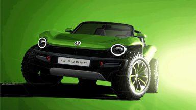 Volkswagen e-Thing: l'off-road elettrico duro e puro