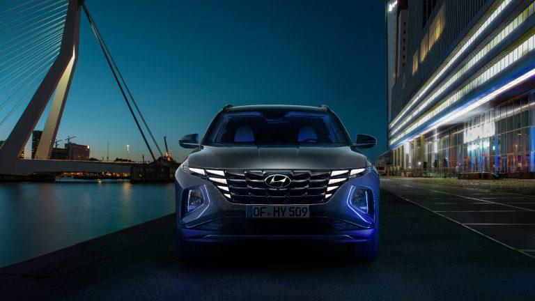 Anteriore Nuova Hyundai Tucson 2021