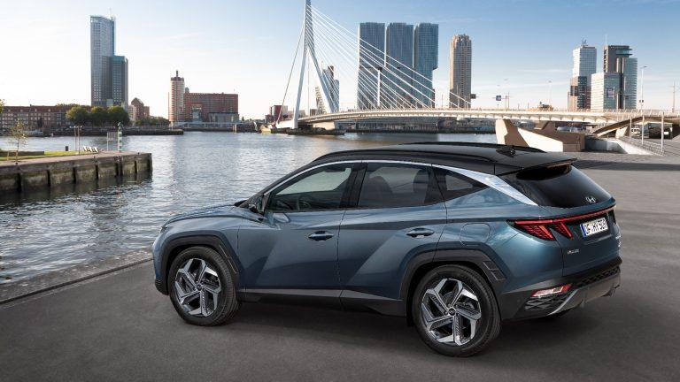 Laterale Nuova Hyundai Tucson 2021
