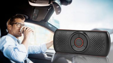 Vivavoce Bluetooth per auto a soli 15,99€ su Amazon