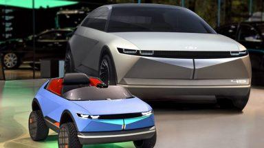 Hyundai svela la sua auto elettrica più piccola [Video]
