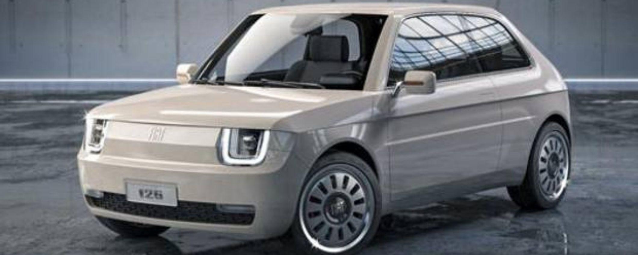 Fiat 126 Vision: la concept car EV fa sognare gli italiani