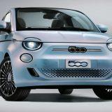 Fiat 500 elettrica: eccola con la mascherina tricolore