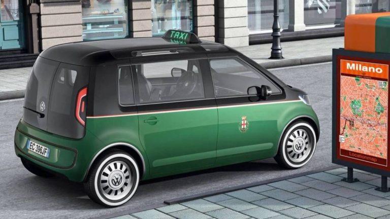 Concept Taxi EV VW per Milano