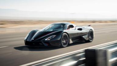 SSC Tuatara: 508,73 km/h per l'auto più veloce del mondo