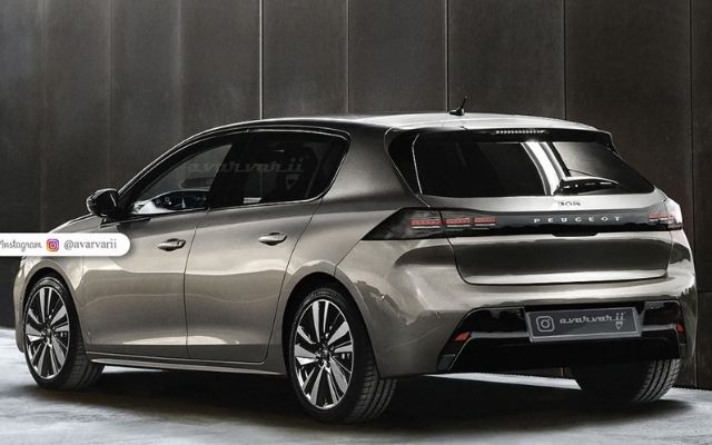 Peugeot 308 render