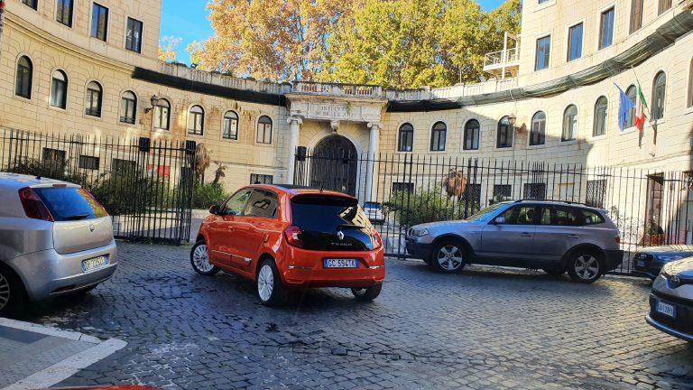 Twingo Electric: percorso urbano