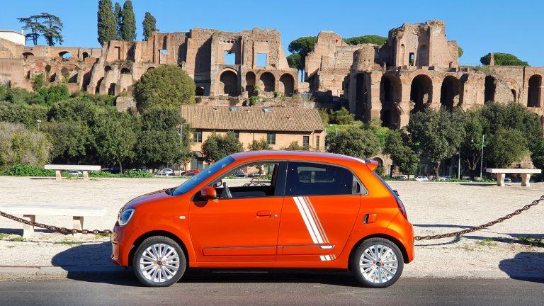 Twingo Electric: Roma - Circo Massimo