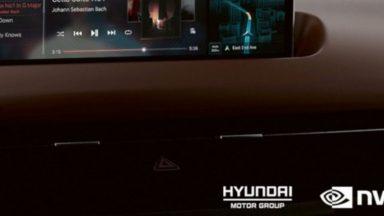 Hyundai: arriva il nuovo car infotainment di Nvidia nel 2022