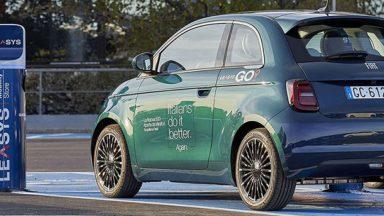 FCA: nasce LeasysGO!, il car sharing con Fiat 500e