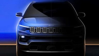Jeep, i teaser svelano la nuova Compass