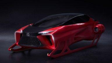 Ecco le slitte speciali di Babbo Natale by Lexus e Bentley