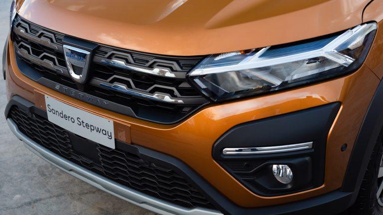 Nuova Dacia Sandero Stepway fari led