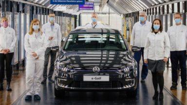Volkswagen e-Golf: lo stop ufficiale alla produzione